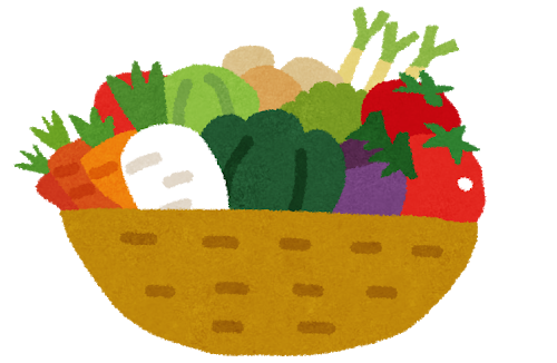 ひばりヶ丘駅 給食用野菜